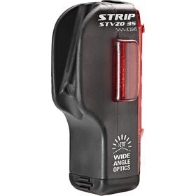 Lezyne Strip Drive LED Achterlicht, zwart/rood
